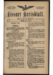 Lissaer Kreisblatt. 1916.02.02 Nr 10