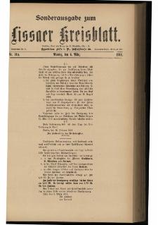 Lissaer Kreisblatt. 1916.03.06 Nr 19a