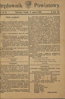 Orędownik Powiatowy (Kościan) 1921.03.09 R.56 Nr 19