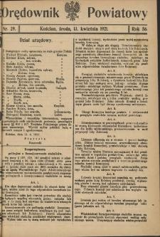 Orędownik Powiatowy (Kościan) 1921.04.13 R.56 Nr 29