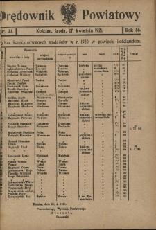 Orędownik Powiatowy (Kościan) 1921.04.27 R.56 Nr 33