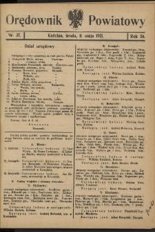 Orędownik Powiatowy (Kościan) 1921.05.11 R.56 Nr 37