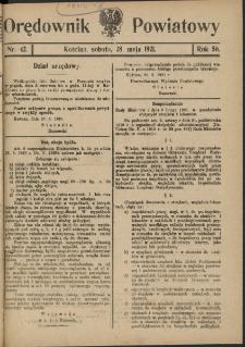 Orędownik Powiatowy (Kościan) 1921.05.28 R.56 Nr 42