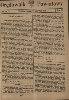 Orędownik Powiatowy (Kościan) 1921.06.08 R.56 Nr 45