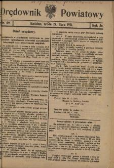 Orędownik Powiatowy (Kościan) 1921.07.27 R.56 Nr 59
