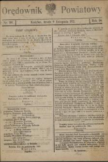 Orędownik Powiatowy (Kościan) 1921.11.09 R.56 Nr 89