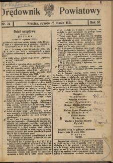 Orędownik Powiatowy (Kościan) 1922.03.25 R.57 Nr 24