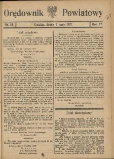 Orędownik Powiatowy (Kościan) 1922.05.03 R.57 Nr 35