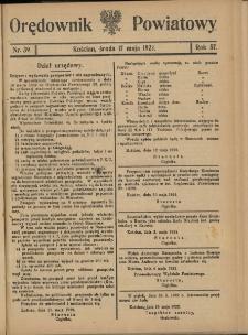 Orędownik Powiatowy (Kościan) 1922.05.17 R.57 Nr 39