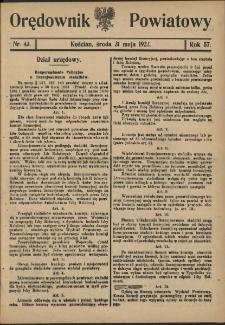 Orędownik Powiatowy (Kościan) 1922.05.31 R.57 Nr 43