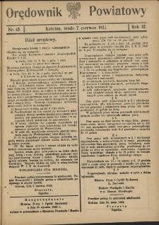 Orędownik Powiatowy (Kościan) 1922.06.07 R.57 Nr 45