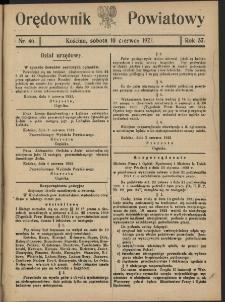 Orędownik Powiatowy (Kościan) 1922.06.10 R.57 Nr 46