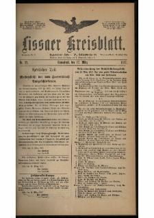 Lissaer Kreisblatt. 1917.03.17 Nr 22
