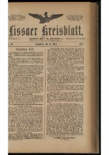 Lissaer Kreisblatt. 1917.04.14 Nr 30