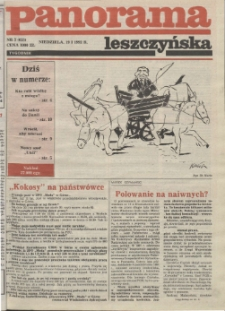 Panorama Leszczyńska 1992.01.19 R.14 Nr3(625)