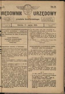 Orędownik Urzędowy Powiatu Kościańskiego 1923.03.21 R.58 Nr12