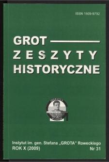 Grot : Zeszyty Historyczne 2008 Nr 2(31)
