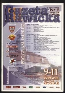 Gazeta Rawicka 2006.06 R.13 Nr 6 (150)
