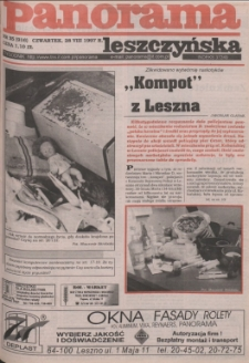 Panorama Leszczyńska 1997.08.28 R.19 Nr35(916)