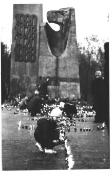 Zdjęcie z pogrzebu Jerzego Popiełuszki 1452