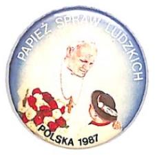 Znaczk - Papież spraw ludzkich