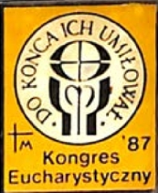 Znaczek - Kongres Eucharystyczny '87