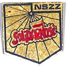 """Znaczek - NSZZ """"Solidarność"""""""