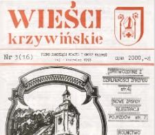 Wieści Krzywińskie 1993.05-06 Nr 3(16)