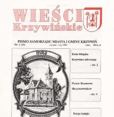 Wieści Krzywińskie 1994.01-02 Nr 1(19)