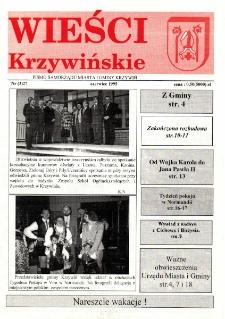 Wieści Krzywińskie 1995.06 Nr 3(27)