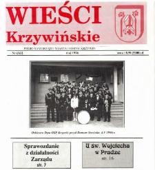 Wieści Krzywińskie 1996.05 Nr 3(32)
