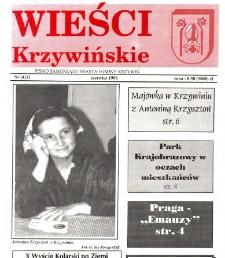 Wieści Krzywińskie 1996.06 Nr 4(33)