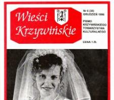 Wieści Krzywińskie 1996.12 Nr 6(35)