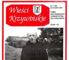 Wieści Krzywińskie 1997.01 Nr 1(36)