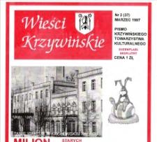 Wieści Krzywińskie 1997.03 Nr 2(37)