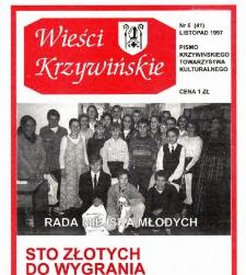Wieści Krzywińskie 1997.11 Nr 6(41)