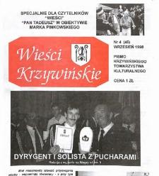 Wieści Krzywińskie 1998.09 Nr 4(45)