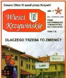 Wieści Krzywińskie 2000.05-06 Nr 1(50)