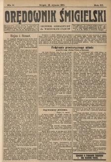 Orędownik Śmigielski 1925.01.22 R.35 Nr 8