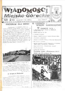 Wiadomości Miejsko-Góreckie 1994 nr 2 (11)
