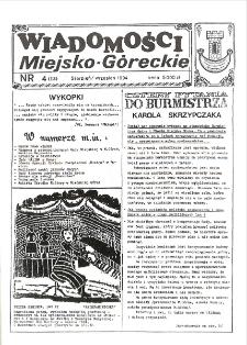 Wiadomości Miejsko-Góreckie 1994 nr 4 (13)