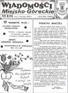 Wiadomości Miejsko-Góreckie 1995 nr 1 (16)