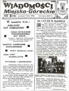 Wiadomości Miejsko-Góreckie 1995 nr 3 (18)