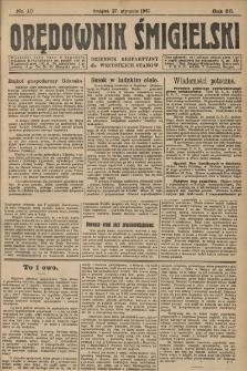 Orędownik Śmigielski 1925.01.27 R.35 Nr 10