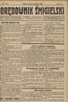 Orędownik Śmigielski 1925.04.04 R.35 Nr 40