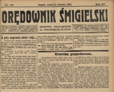 Orędownik Śmigielski 1925.04.15 R.35 Nr 48