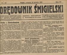 Orędownik Śmigielski 1925.04.16 R.35 Nr 49