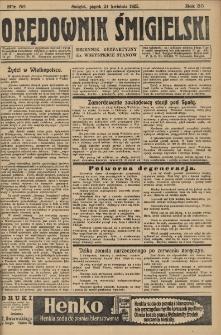 Orędownik Śmigielski 1925.04.24 R.35 Nr 56