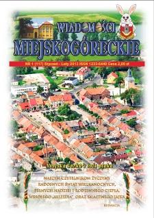 Wiadomości Miejskogóreckie 2013 nr 1 (117)