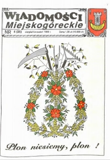 Wiadomości Miejskogóreckie 1996 nr 4 (25)
